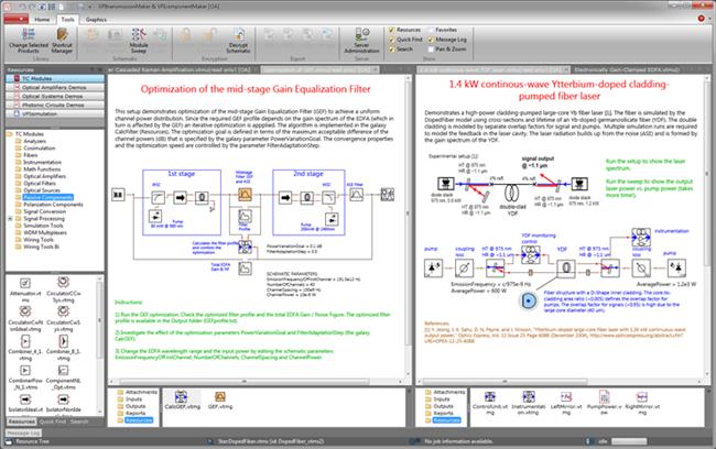 VPIcomponentMaker™ Fiber Optics – Overview